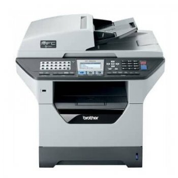 Multifunctionala second hand monocrom A4 Brother MFC-8880DN, duplex, retea