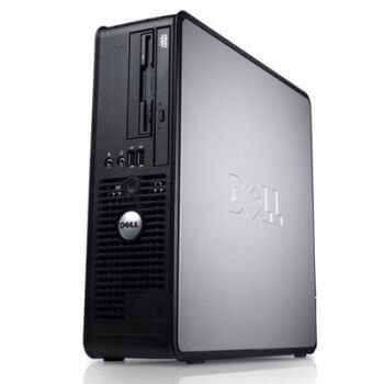 Calculatoare Dell Optiplex 755SFF Core2Duo Q8200 2.33GHz 8GB 128GB SSD, Placa video ATI Radeon 1GB