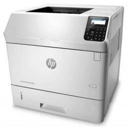 Imprimanta second hand HP LaserJet Enterprise M605n, 58ppm, retea + cartus incarcat 100%