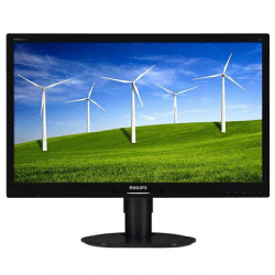 Monitor second hand LED Philips 220B widescreen, 22 inch, boxe, Grad A