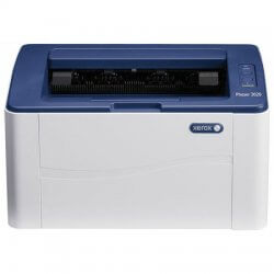 Imprimanta second hand laser monocrom Xerox Phaser 3020, Wireless, A4