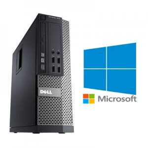Calculator Refurbished Dell Optiplex 7010 SFF Core i7-3770, 8GB ddr3, 128Gb ssd, Windows 10 Home
