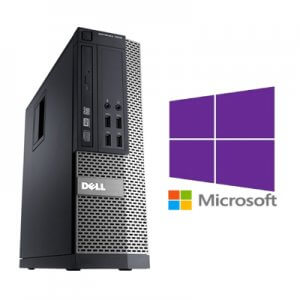 Calculator Refurbished Dell Optiplex 7010 SFF Core i7-3770, 8GB ddr3, 128Gb ssd, Windows 10 Pro