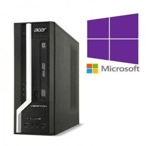 PC Refurbished Acer Veriton X2631G Pentium G3220, 8GB ddr3, 500GB, Windows 10 Pro