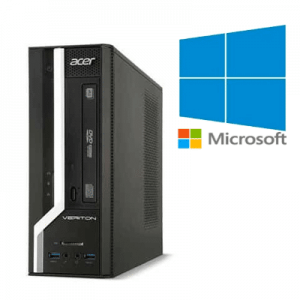 PC Refurbished Acer Veriton X2631G Pentium G3220, 8GB ddr3, 500GB, Windows 10 Home