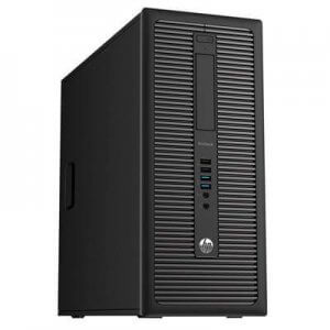 Calculatoare second hand HP EliteDesk 800 G1 i5-4570, 8Gb ddr3, SSD 128GB+500Gb, GT630 2Gb
