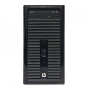 Calculator second hand HP Prodesk 400 G1 MT Core i3-4130, 4GB ddr3, 500Gb