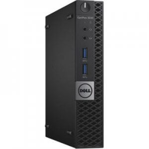 Mini PC Refurbished Dell Optiplex 3040 Tiny Intel Core i5-6600T, 8GB ddr3, 256GB SSD, Windows 10 Home