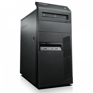 Calculatoare second hand Lenovo ThinkCentre M81 MT Core i7-2600, 8GB ddr3, 1TB