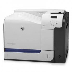 Imprimanta laser color HP LaserJet Enterprise 500 Color M551 cu cartusele pline