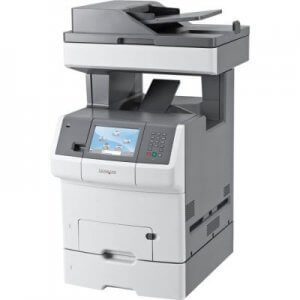 Multifunctionale second hand color Lexmark X738de, 35ppm