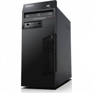 Calculatoare second hand Lenovo Thinkcentre M72e Tower Core i7-2600, 8GB ddr3, 128GB ssd