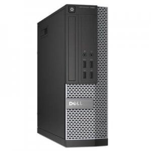 Calculatoare second hand Dell Optiplex 7010 SFF Core i7-3770, 8GB ddr3, SSD 128GB