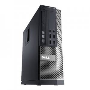 Calculator second hand Dell Optiplex 7010 SFF Core i7-3770, 8GB ddr3, 128Gb ssd, Ati Radeon HD7540