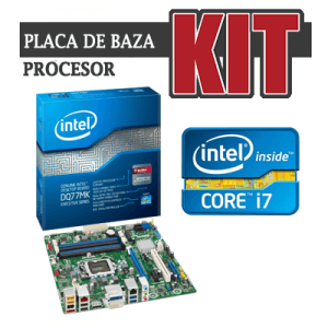 KIT Placa de baza Intel DQ77MK+Core i7-3770k+Cooler