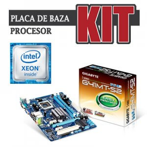 kit Gigabyte GA-G41MT-S2, cpu Xeon Quad Core X5450
