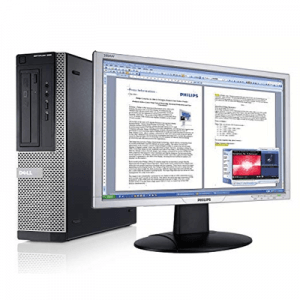 Dell Optiplex 390 SFF Core i3-2100, 4GB ddr3, 250GB, monitor 20 inch