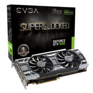 Placa video second hand EVGA GeForce GTX 1080 SC GAMING ACX 3.0 8GB