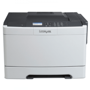 Imprimante second hand color Lexmark CS410DN, A4, 30ppm, duplex, retea