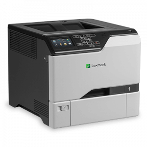 Imprimante second hand laser color Lexmark CS720, duplex, retea