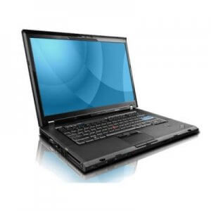 Laptop second hand Lenovo Thinkpad T500 Core2duo T8300, 2Gb, 160Gb, 15.6 inch