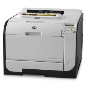 Imprimanta laser color HP Laserjet Pro 400 M451nw, 21ppm, retea, wireless, fara cartuse