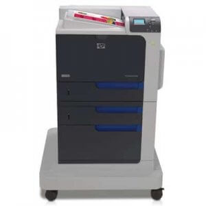 Imprimante laser HP Color LaserJet Enterprise CP4525DN cu roti