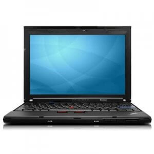 Laptop second hand Lenovo ThinkPad X201 i5 M520 2.40GHz 4GB 160GB
