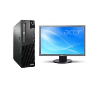 Pachet Calculator Lenovo Thinkcentre M82 DT Core i5-3470, 8Gb ddr3, 500GB HDD + Monitor Acer 193W