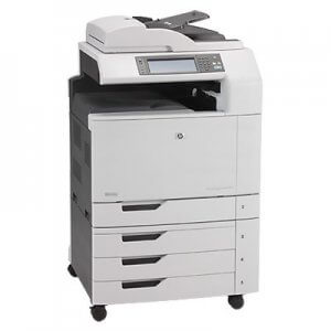 Copiator second hand HP Laserjet CM6040 MFP color