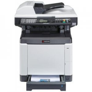 Multifunctionale second hand laser Kyocera FS-C2126 MFP, color, duplex, retea, 26ppm