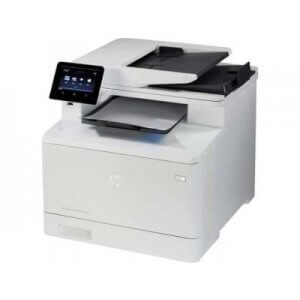 Multifunctionale second hand A4 HP Color LaserJet CM1312nf cu cartuse incarcate 100%