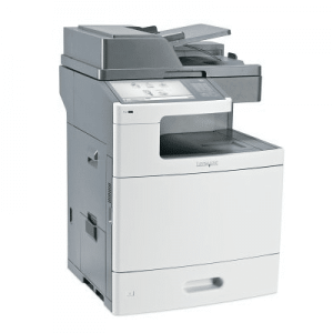 Multifunctionale second hand color Lexmark XS796de, A4, duplex, retea