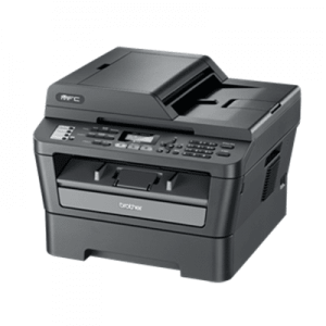 Multifunctionale second hand monocrom Brother MFC-7460DN, A4, duplex, retea