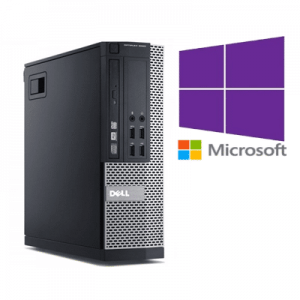 PC Refurbished Dell Optiplex 9020 SFF Core i5-4570, 8GB ddr3, 128GB SSD, Windows 10 Pro