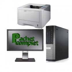 "Pachet Business Dell 7010+LCD22""+imprimanta"