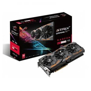 Placa video second hand Asus ROG STRIX Radeon RX 480 GAMING 8GB
