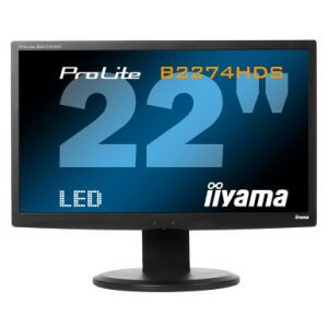 Monitor LED second hand Iiyama Prolite B2274HDS, HDMI, 22 inch, Grad -A