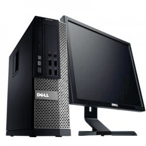 Pachet calculator Dell Optiplex 790 SFF + monitor 17 inch Dell