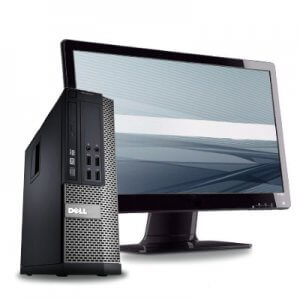 Pachet calculator Dell Optiplex 790 SFF+monitor 22 inch
