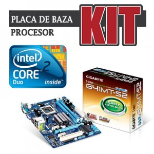 kit Gigabyte GA-G41MT-S2 cpu Core2duo E7500