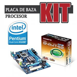 kit Gigabyte GA-G41MT-S2, cpu Dual Core E5700