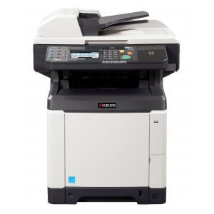 Multifunctionala laser color second hand A4 Kyocera C2626 MFP, duplex, retea