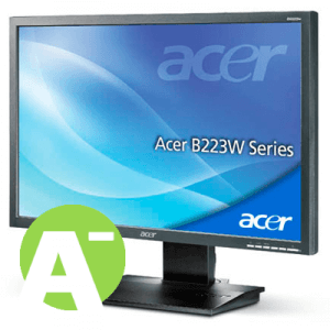 Monitor second hand LCD Acer B223W, 22 inch, Grad -A
