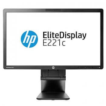 Monitoare LED HP EliteDisplay E221c, 21.5 inch, IPS, FHD, webcam si microfon, boxe, Grad -A