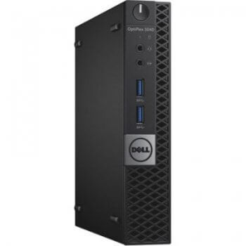 Mini PC second hand Dell Optiplex 3040 Tiny Intel Core i3-6100T, 4Gb ddr3, 500Gb