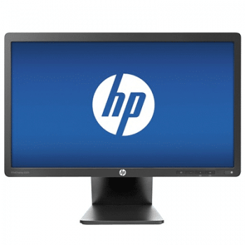 Monitoare second hand HP EliteDisplay E201, LED, 20 inch, widescreen, Grad -A