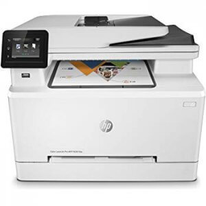 Multifunctionala second hand A4 HP Color LaserJet Pro MFP M477FDW, wireless, cartuse incarcate 100%