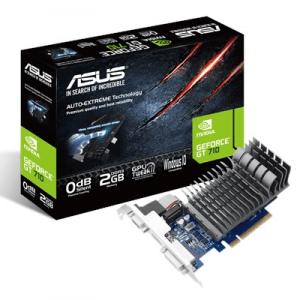 Placa video second hand ASUS GeForce GT 710, 2GB DDR3, 64-bit