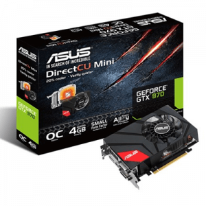 Placa video second hand ASUS GeForce GTX 970 DC Mini 4GB